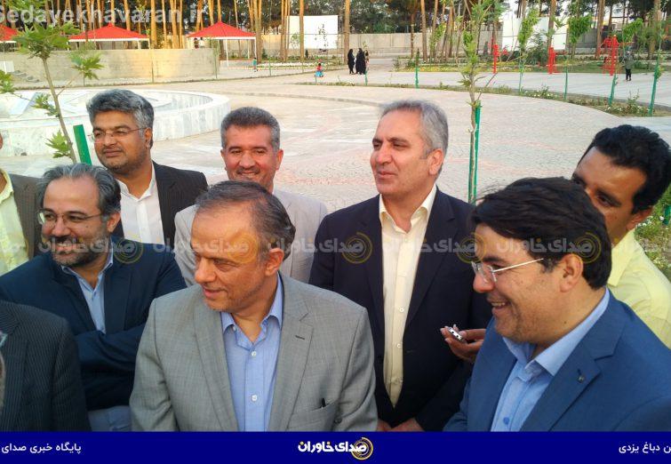 بازدید استاندار خراسان رضوی از پارک بانوان