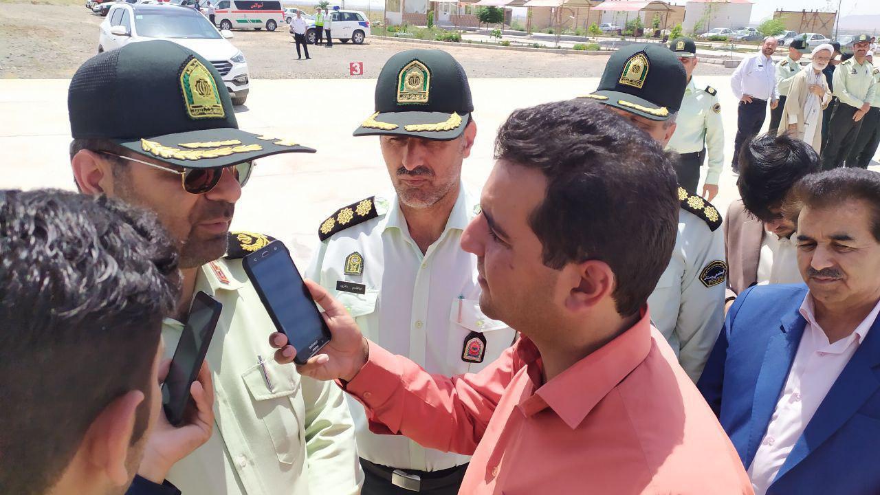 امنیت و آسایش مردم، خط قرمز نیروی انتظامی است