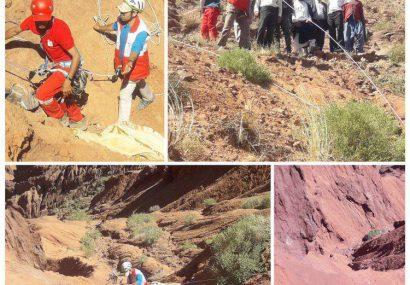مرگ مرد ۴۰ ساله به خاطر افتادن در دره