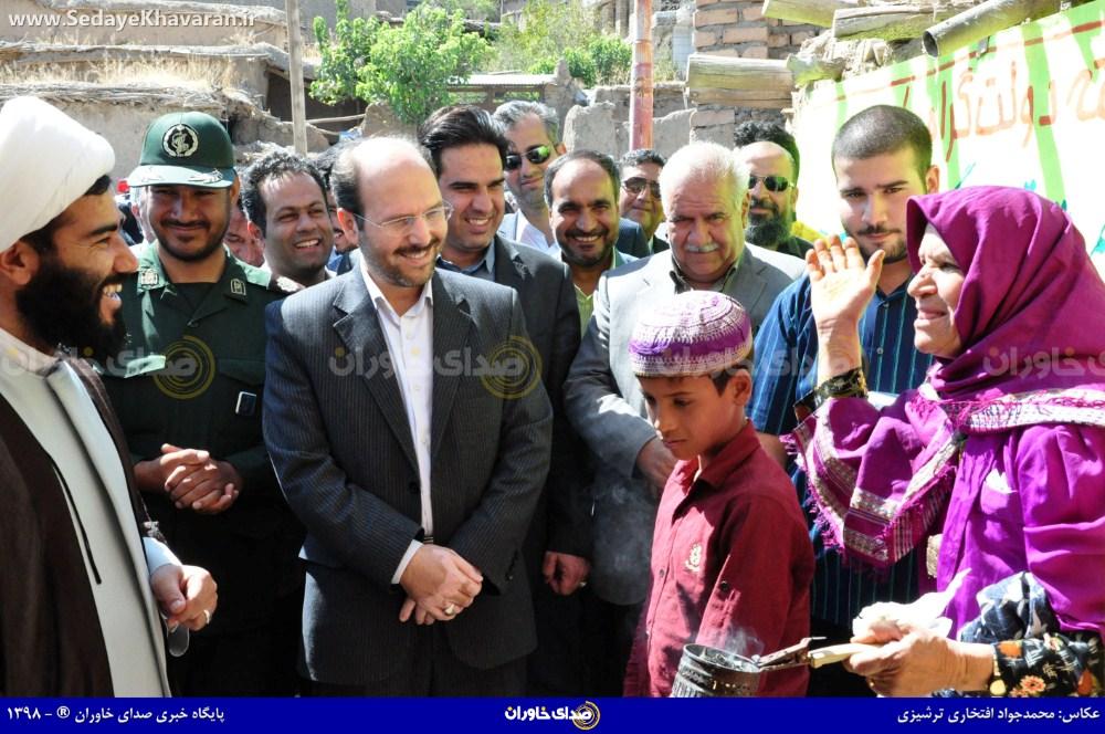 افتتاح پروژه های هفته دولت در بخش کوهسرخ
