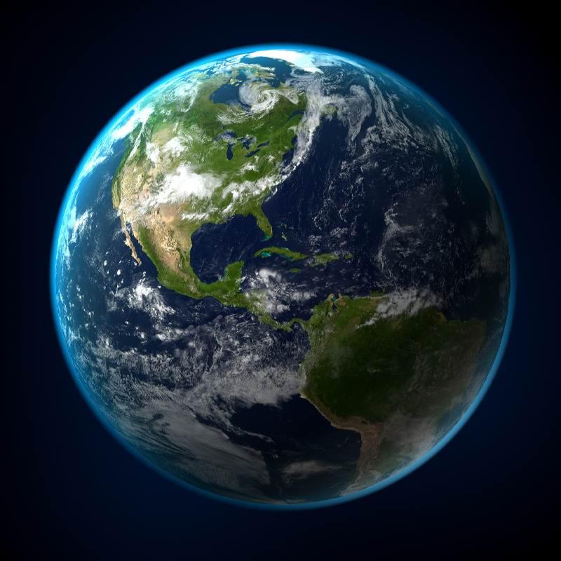زمین در حال نفس کشیدن است