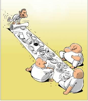 مرده خوران سیاسی، چرا از مرده میترسند؟!