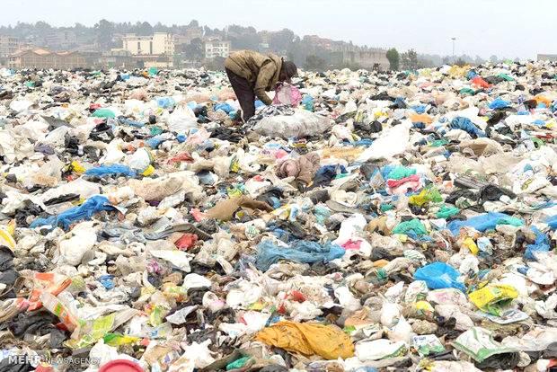 رهاسازی سالانه 200 تن مواد پلاستیکی در طبیعت