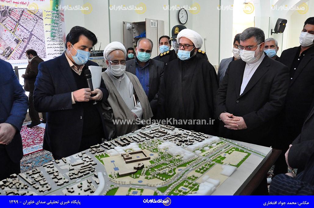 91 مصوبه؛ دستاورد سفر استاندار خراسانرضوی به منطقه ترشیز
