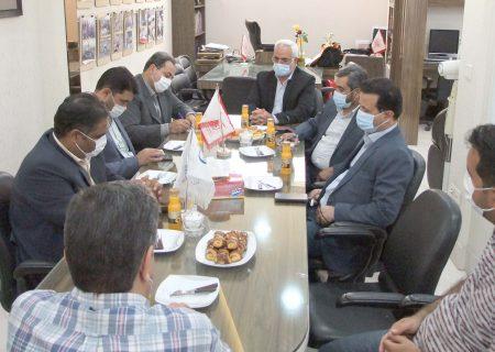 اعضای شورای شهر و سرپرست شهرداری در نشریه آوایکاشمر حضور یافتند