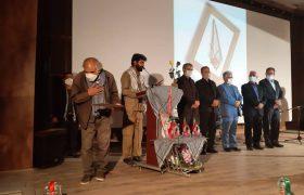 نکوداشت اولین های فرهنگی هنری هشت سال دفاع مقدس در کاشمر برگزار شد