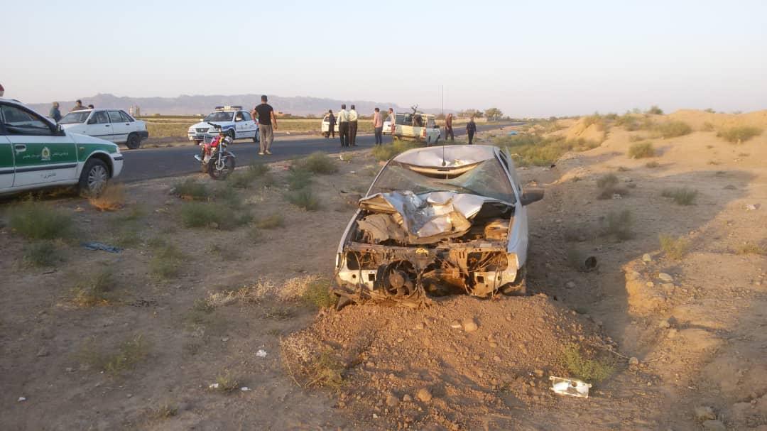 برخورد خودرو با موتور سیکلت در کاشمر یک کشته برجا گذاشت/اداره راهداری و حمل و نقل جادهای نسبت به ایمن سازی محور اقدام کند