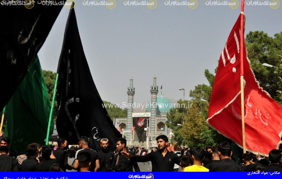 عکس | راهپیمایی جاماندگان اربعین حسینی(ع) در کاشمر