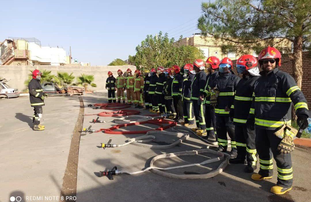 چهارمین دوره آموزشی متوالی تخصصی و مهارتی رفتارشناسی حریق استان خراسان در بردسکن برگزار شد